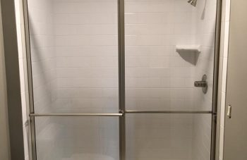 Framed Shower Slider